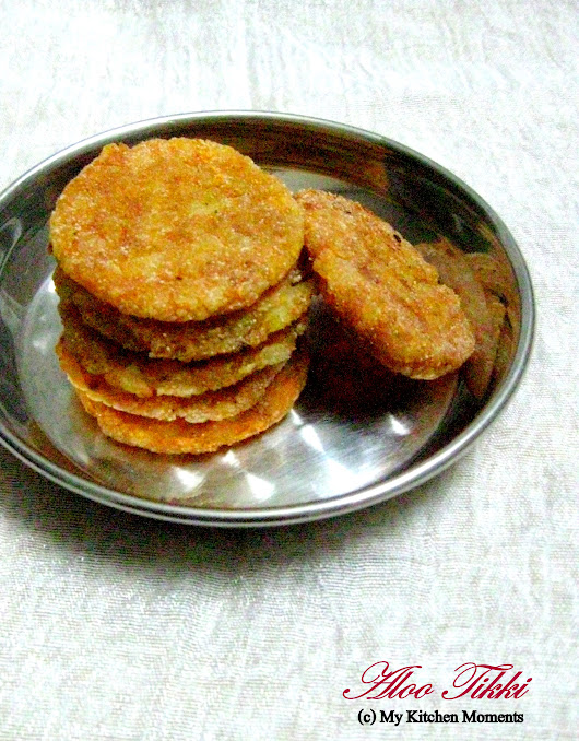Aloo Tikki - Spiced Potato Patties