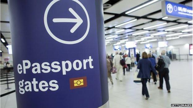 UK airport border controls
