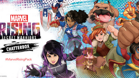 You've got to check out MARVEL RISING: SECRET WARRIORS's MARVEL RISING: SECRET WARRIORS Chatterbox event on Ripple Street!