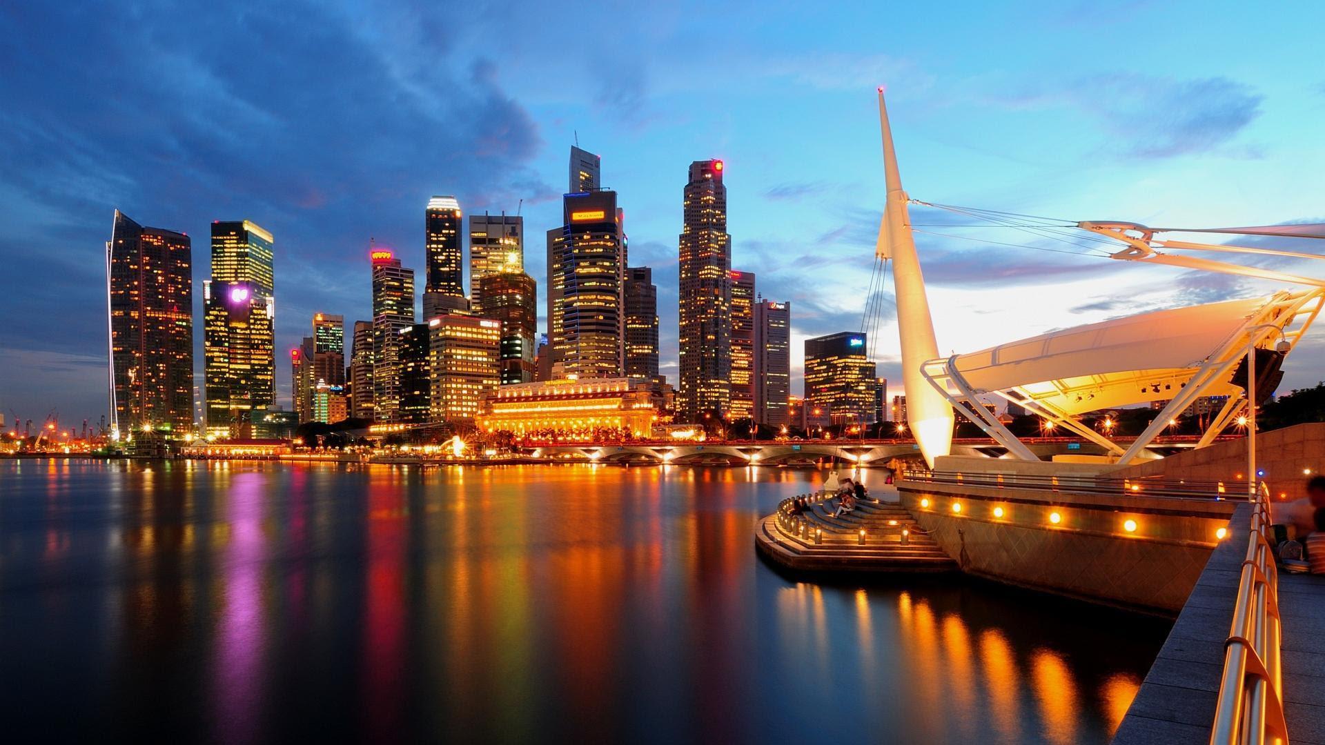 Beautiful City Lights At Night wallpaper | travel and ...