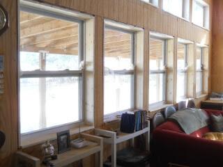 Great Room Lower Windows Inside Sills