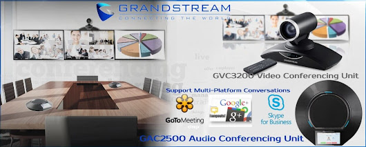 Business Conferencing Systems - Grandstream Dubai