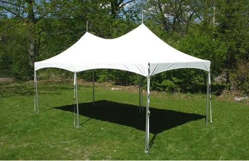 Eureka Vista 10 X 20 2 Dia Frame Peak Top Party Tent Outdoor