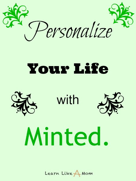 Personalize Your Life With Minted! - Learn Like A Mom!