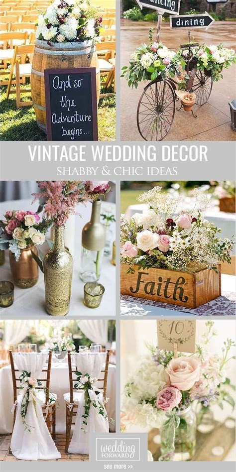 25  best ideas about Vintage weddings decorations on