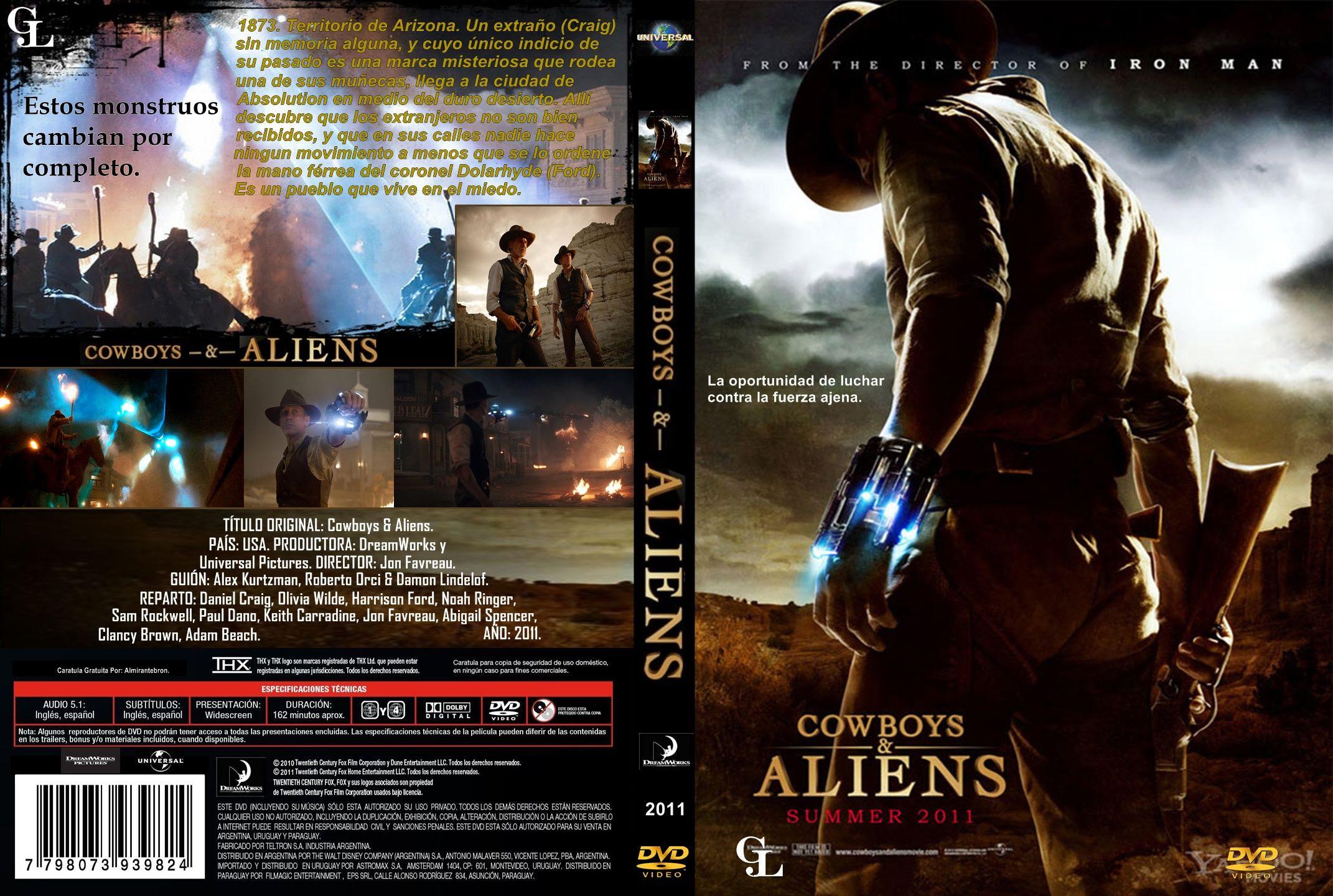 Cowboys & Aliens Torrent - BluRay 720p Dublado (2011)