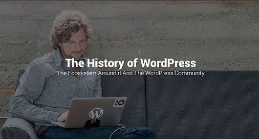 The History of WordPress, its Ecosystem and Community