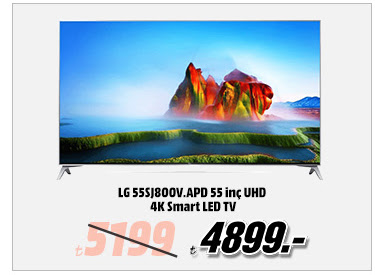 LG 55SJ800V.APD 55 inç UHD 4K Smart LED TV 4899TL