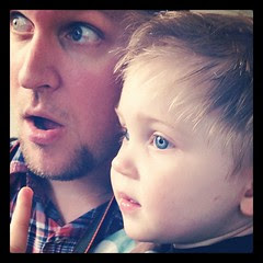 Daddy and son close-up. #photoaday #masterquinn