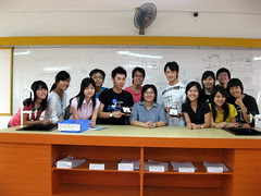 Group pic with Ms Ong
