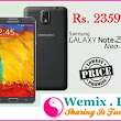 Samsung Galaxy Note 3 Neo Rs 23599