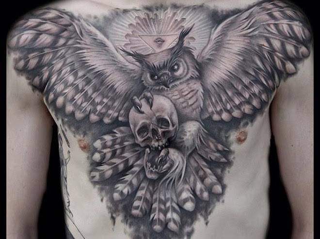 15 Owl Tattoo With Positive Meanings Tattoos Win