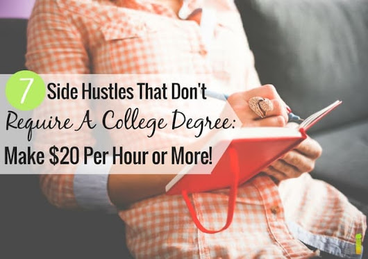 7 Awesome Side Gigs that Don't Require a College Degree - Frugal Rules