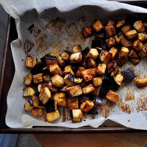 Spiced Eggplant Baked
