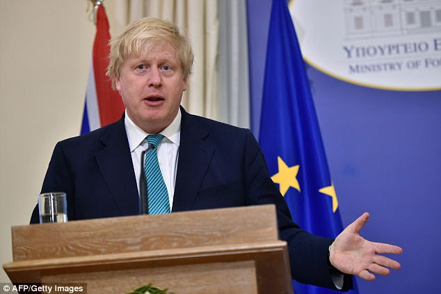 Boris Johnson has pulled out of a visit to Moscow in the wake of the Syrian chemical weapons attack saying 'we deplore Russia's continued defence of the Assad regime'