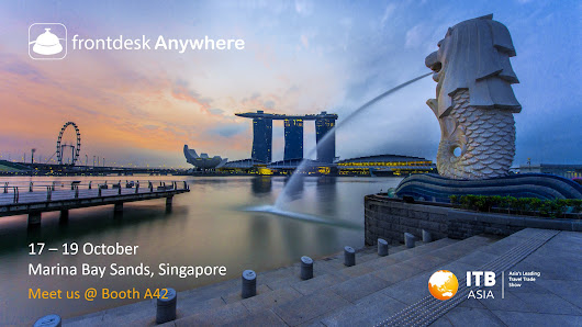 Meet Frontdesk Anywhere at ITB Asia 2018