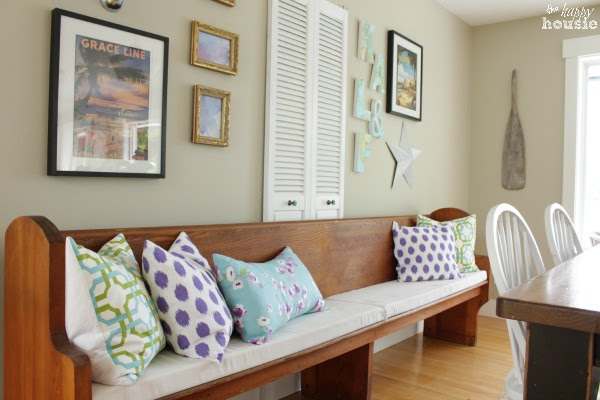 Living Dining Room Tour at The Happy Housie for Savvy Southern Style 19