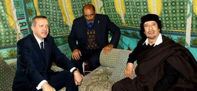 Libya'ya tarihi ziyaret