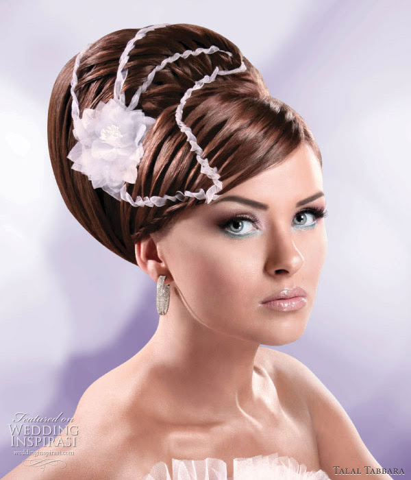 Wedding updo this elegant look is suitable for brides going for the