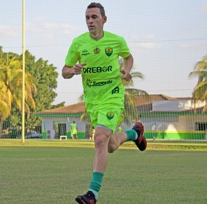 Juba, atacante do Cuiabá (Foto: Pedro Lima/Cuiabá Esporte Clube)