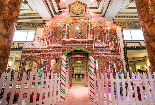 Incredible gingerbread houses to inspire you this season