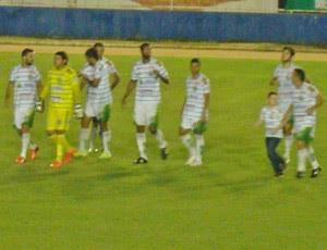 Com gol nos acréscimos, Assu bate Palmeira por 4 a 3 e mantém sonho (Foto: Rádio Princesa do Vale/Divulgação)