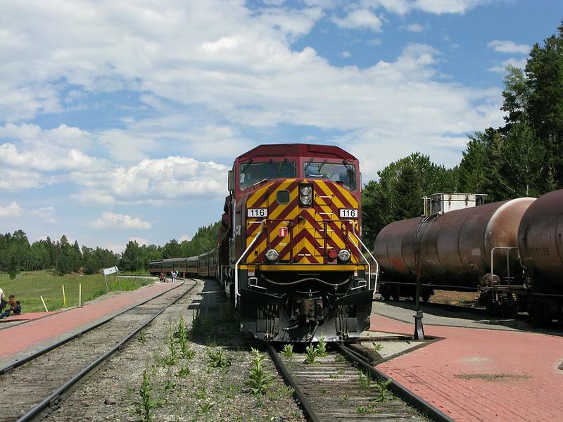 Rio Grande Scenic Railroad Fir Station