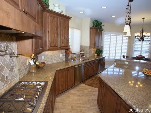 Cozinhas planejadas com granito