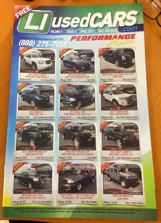 Long Island Media Inc., Launches Monthly Print Cars Magazine Throughout Long Island, Eastern Queens