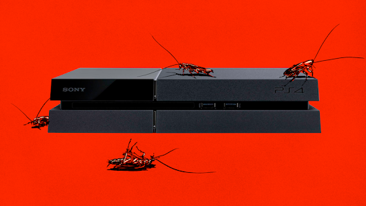 Console Repairmen Explain Why Cockroaches Love PS4s