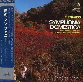 REINER, FRITZ strauss; symphonia domestica