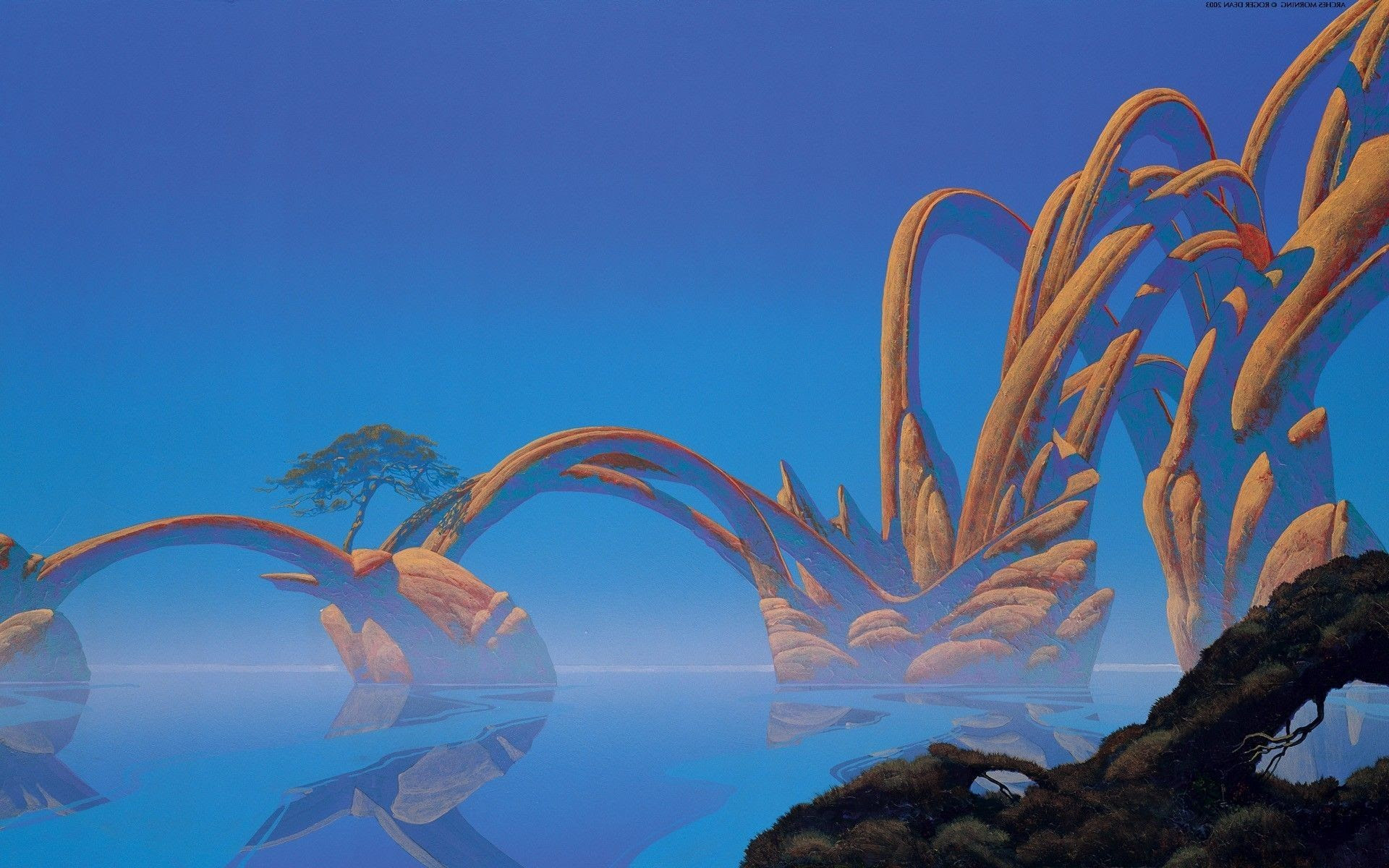 Roger Dean Wallpaper For Iphone 74 Images