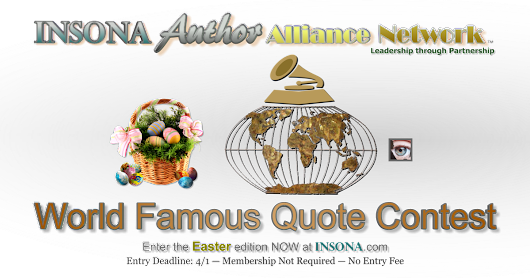 INSONA World Famous Quote Contest