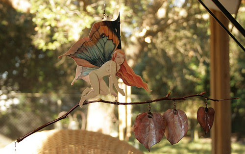 Autumn Fairy Ornament