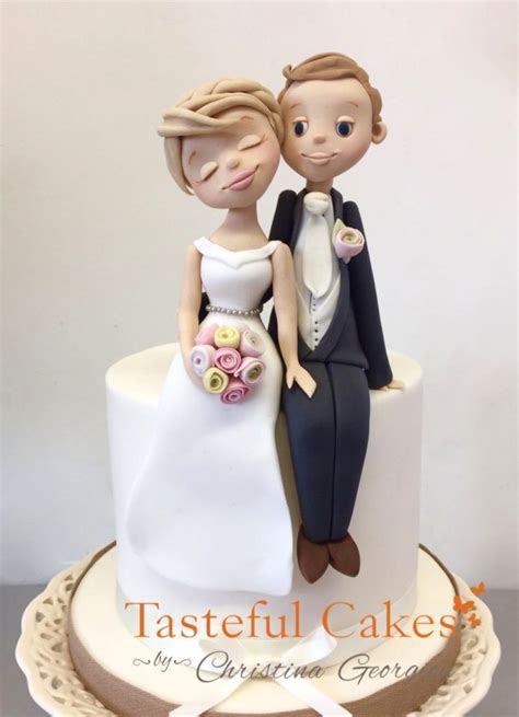 Tasteful Cakes By Christina Georgiou   Hugging Bride