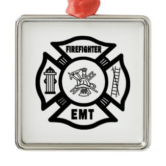Firefighter EMT ornament