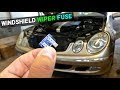 Windshield Wiper Fuse Replacement Cost