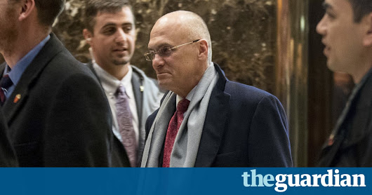 Andrew Puzder, Trump's labor secretary pick, withdraws from consideration | US news | The Guardian