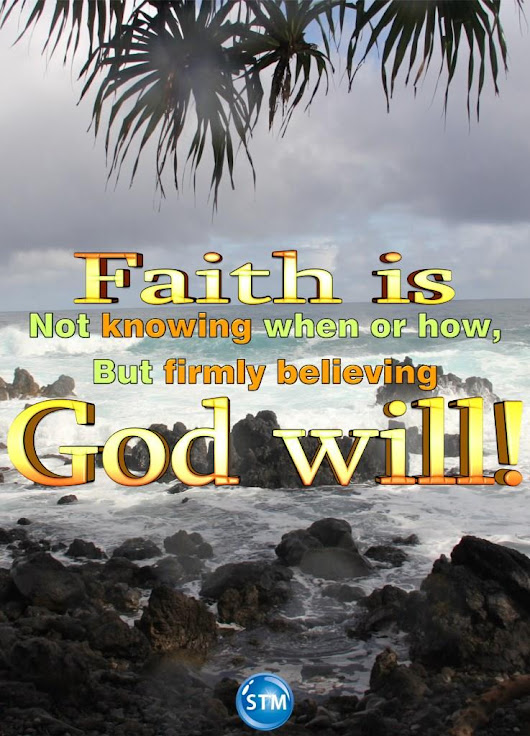 Unwavering Faith/Hope Learn How to Have Absolutely Solid Trust in God