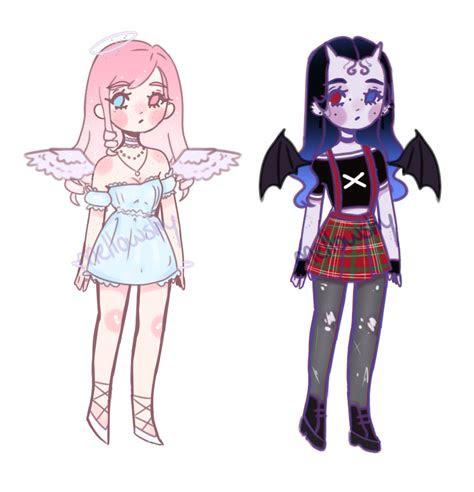 ota angel  demon adopt closed  mellowshy