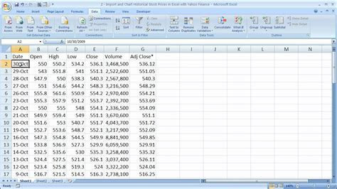 How to import forex data into excel