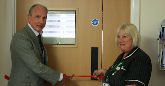 New ward is opened at the Yeatman Hospital Sherborne