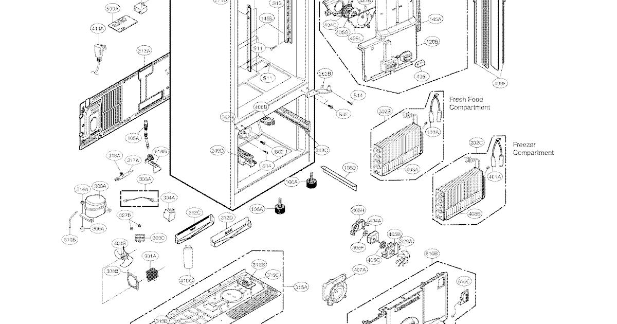 35 Lg Lsc26905tt Parts Diagram