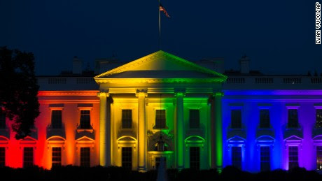 White House shines rainbow colors to hail marriage ruling - CNNPolitics.com