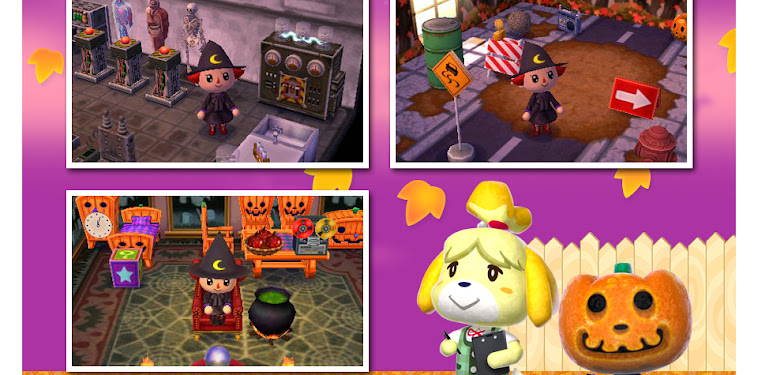 Isabelle Animal Crossing Halloween