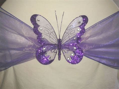 Details about Wedding Party Decoration Clip on Butterfly