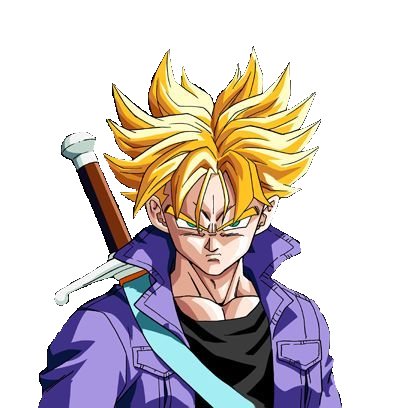 Trunks del futuro Super Saiyajin