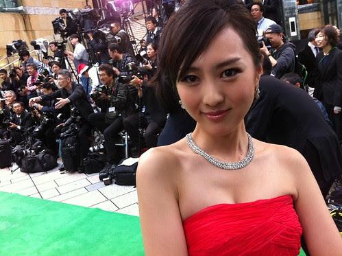 Kiki Sugino at the Green Carpet