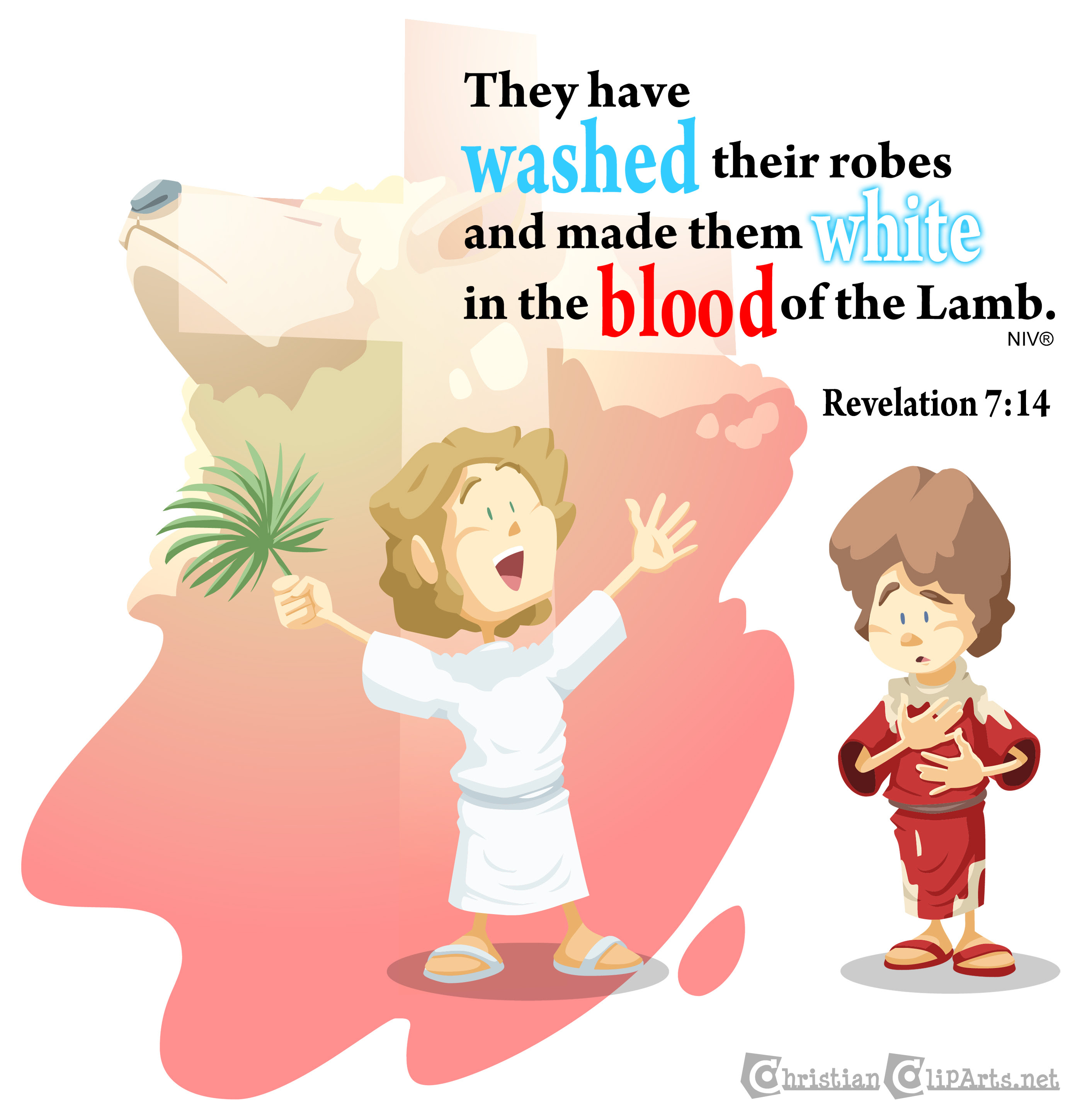 Washed in the blood of the Lamb