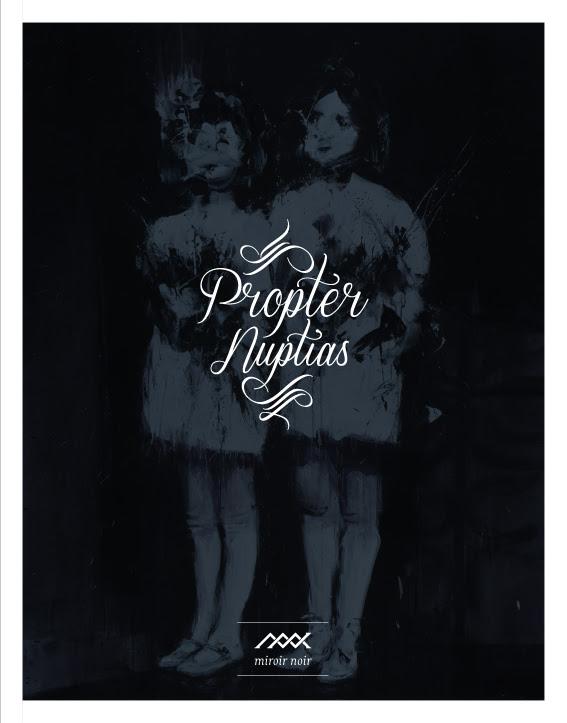 Miroir Noir Propter Nuptias cover